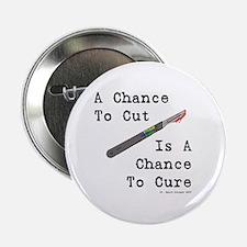 "A Chance To Cut 2.25"" Button"