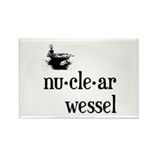 Nuclear Wessel Rectangle Magnet (10 pack)