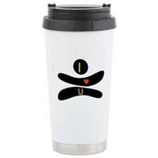 Cute I love grand rapids Travel Mug