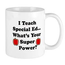 I teach special ed Mugs