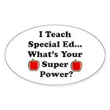 I teach special ed Decal