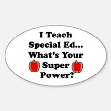 I teach special ed Decal