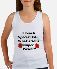 Funny Humorous teacher Women's Tank Top