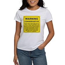 WARNING CONSERVATIVE... Tee