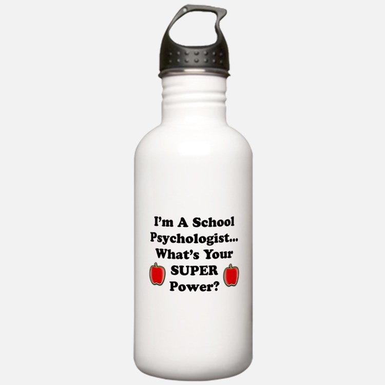 Cute Worlds greatest teacher Sports Water Bottle