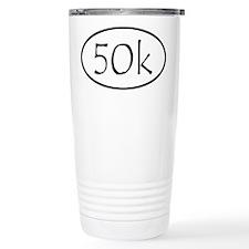 Ultra Marathon Distance 50k Travel Mug