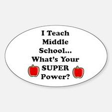 I teach middle Decal