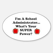 I teach 6th grade Sticker (Oval)