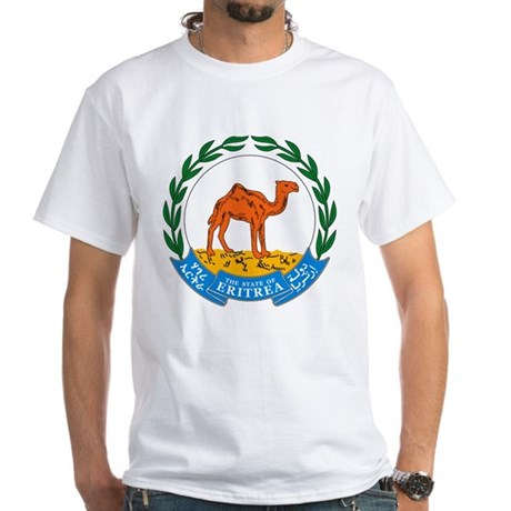 Eritrea Coat of Arms White T-Shirt