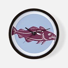 atlantic codfish Wall Clock
