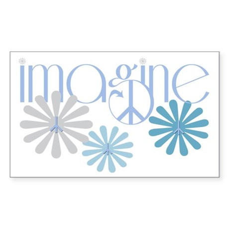 Imagine Sticker (Rectangle)