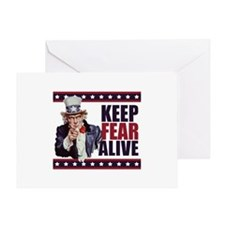 Keep Fear Alive Greeting Card