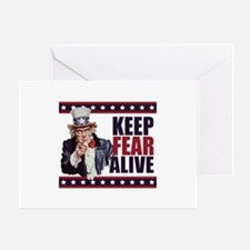 Keep Fear Alive Greeting Card