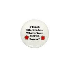 Elementary school counselor Mini Button (10 pack)