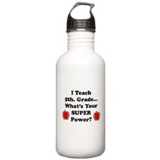 Funny School administrator Water Bottle