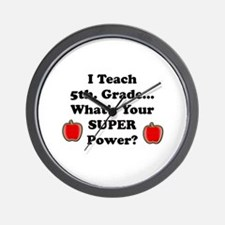 School coach Wall Clock