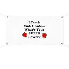 School secretary Banner