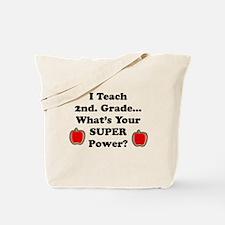Cute 2nd grade teacher Tote Bag