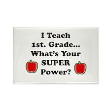 Unique Preschool teacher Rectangle Magnet