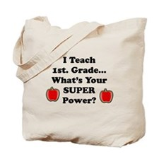 Unique 1st grade teacher Tote Bag