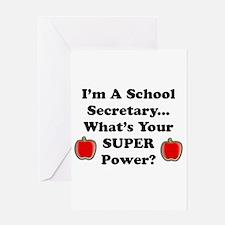 Cool School secretaries Greeting Card