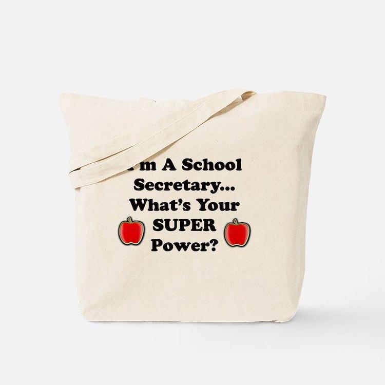 Cute Secretary school Tote Bag