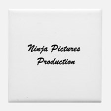 Cute Video production Tile Coaster