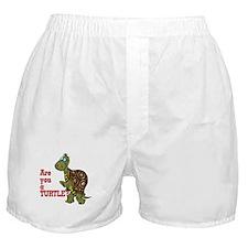 Walking Turtle Boxer Shorts