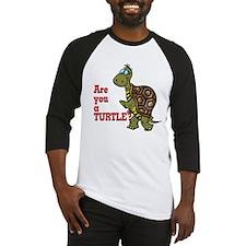Walking Turtle Baseball Jersey