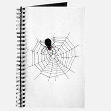 Black Spider in Web Journal