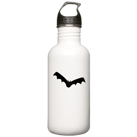 Black Bat w/ Red Eyes Stainless Water Bottle 1.0L
