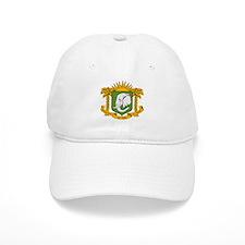 Ivory Coast Coat of Arms Baseball Cap