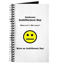 Celebrate Indifference Day Journal