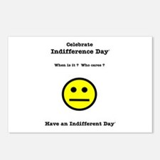 Celebrate Indifference Day Postcards (Package of 8
