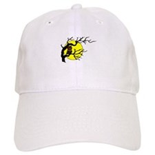 Owl Tree Moon Baseball Cap