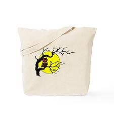 Owl Tree Moon Tote Bag