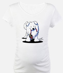 Penguin Sled Samoyed Shirt
