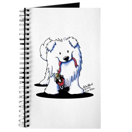 Penguin Sled Samoyed Journal