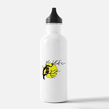 Owl Tree Moon Water Bottle