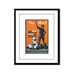 Library Association Reading Framed Panel Print