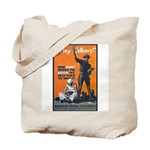 Library Association Reading Tote Bag