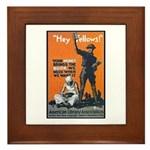 Library Association Reading Framed Tile