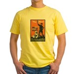 Library Association Reading Yellow T-Shirt