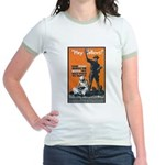 Library Association Reading Jr. Ringer T-Shirt