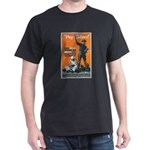 Library Association Reading (Front) Black T-Shirt