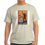 Library Association Reading Ash Grey T-Shirt