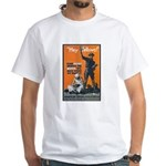 Library Association Reading White T-Shirt