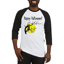 Happy Halloween Owl Baseball Jersey
