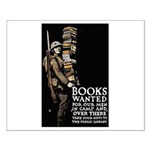 Books Wanted Poster Art Small Poster