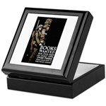Books Wanted Poster Art Keepsake Box